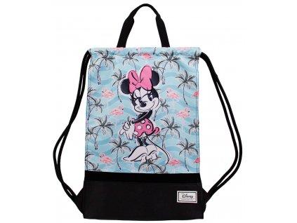 Batoh - pytlík gym bag Disney|Mickey Mouse: Minnie Mouse Tropic (34 x 49 cm)