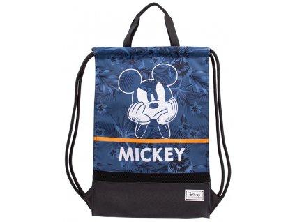 Batoh - pytlík gym bag Disney|Mickey Mouse: Blue (34 x 49 cm)