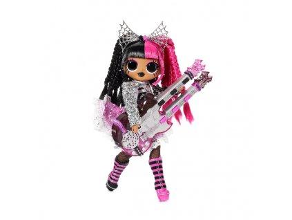 Panenka L.O.L. Surprise! OMG ReMix Rock Velká ségra - Metal Chick s elektrickou