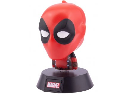 Plastová dekorativní svítící figurka Marvel: Deadpool (výška 10 cm)