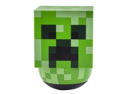 Plastová dekorativní 3D lampa Minecraft: Creeper