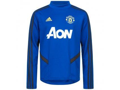 Dětská tréninková mikina Adidas Manchester United FC blue