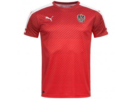 Dětský domácí dres Puma Rakousko červený