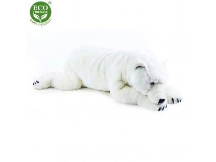Plyšový velký lední medvěd ležící 109 cm ECO-FRIENDLY