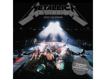 Oficiální kalendář 2022 Metallica: SQ (30 cm x 30|60 cm)