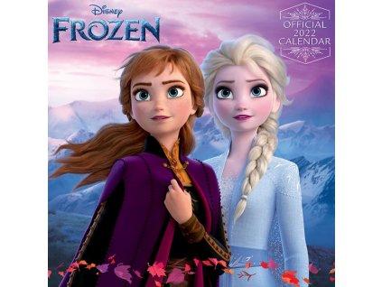Oficiální kalendář 2022 Frozen Ledové království: SQ (30 cm x 30 60 cm)