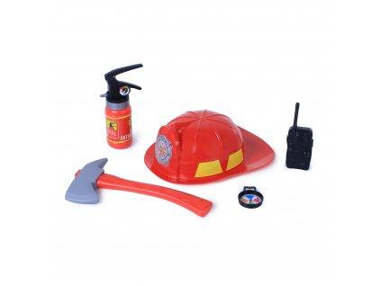 Sada hasičská helma a příslušenství