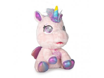 My baby unicorn Můj interaktivní jednorožec světle růžový