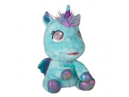 My baby unicorn Můj interaktivní jednorožec modrý