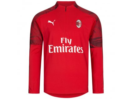 Dětská tréninková mikina Puma AC Milán červená