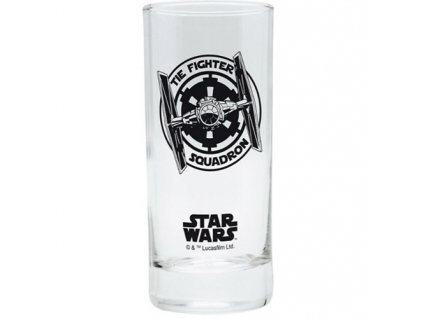 Sklenice Star Wars/Hvězdné války Tie-Fighter