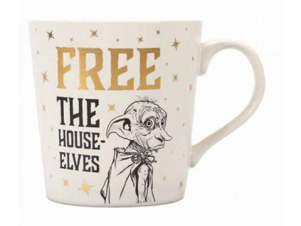 HRNEK KERAMICKÝ/HARRY POTTER  325 ml/DOBBY/FREE THE HOUSE-ELVES