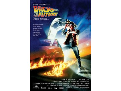 PLAKÁT 61 x 91,5 cm/BACK TO FUTURE  BACK TO THE FUTURE/ONE SHEET/150 gr