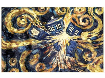 Plakát Doctor Who: Exploding Tardis (61 x 91,5 cm)