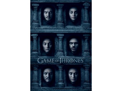 PLAKÁT 61 x 91,5 cm  GAME OF THRONES/HALL OF FACES