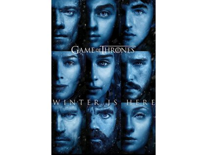 PLAKÁT 61 x 91,5 cm/GAME OF THRONES  WINTER IS HERE/150 g