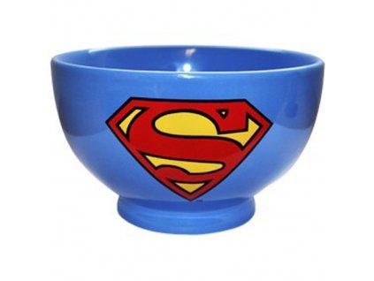 MISKA KERAMICKÁ/DC COMICS  SUPERMAN/LOGO/PRŮMĚR 14 cm