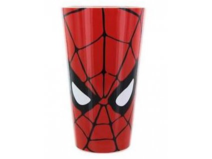 SKLENICE SKLO/MARVEL/SPIDERMAN  400 ml/FACE