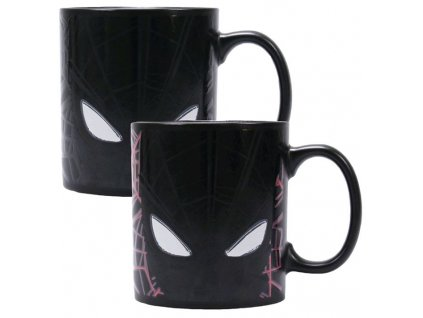 HRNEK PROMĚŇOVACÍ/MARVEL/SPIDERMAN  400 ml/GREAT POWER/ČERNÝ