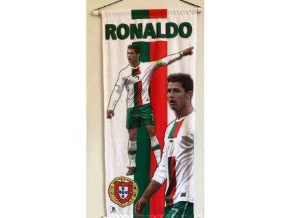 Vlajka na zeď: Christiano Ronaldo