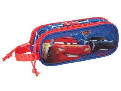 Dvojitý penál na tužky Disney|Cars 3: Lightning Speed (21 x 8 x 6 cm) polyester