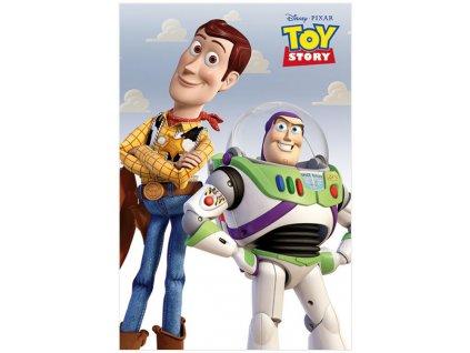 Plakát Disney|Toy Story|Příběh hraček: Woody & Buzz (61 x 91,5 cm)