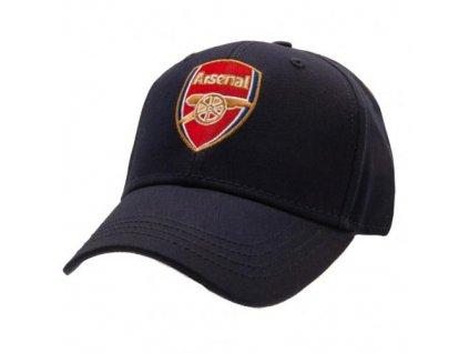 Kšiltovka FC Arsenal: Znak (nastavitelná) modrá bavlna