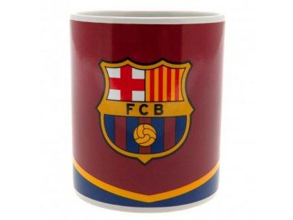 Keramický hrnek FC Barcelona: Znak (objem 325 ml) bílý