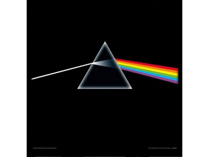 Plakát v rámu Pink Floyd: Dark Side Of The Moon (31,5 x 31,5 cm)