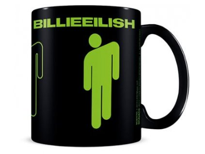 Keramický hrnek Billie Eilish: Stickman (objem 315 ml) černý