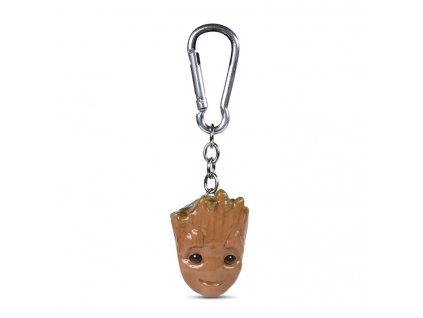 Přívěsek na klíče Guardians Of The Galaxy|Strážci Galaxie: Baby Groot (4 x 4 cm)