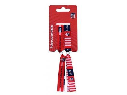 Textilní náramky Atletico Madrid 2pk