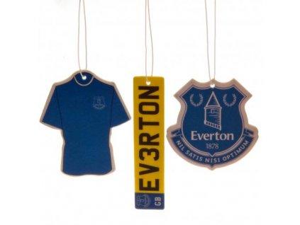 Vůně do auta Everton 3pk