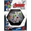 Samolepky na elektroniku Marvel Avengers: Heroes (5 listů 33 kusů, 18 x 24 cm)