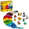 LEGO Classic Průhledné kreativní kostky 11013