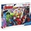 Třpytivé puzzle Marvel: Avengers 104 dílků (33,5 x 23,5 cm)