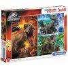 Puzzle Jurassic World Jurský svět: Dinosauři 3 x 48 dílků (22 x 32 cm)
