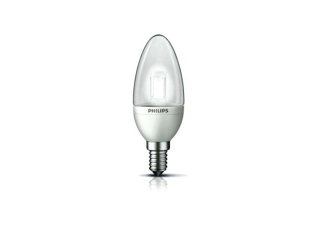 LED žárovka Philips 3W (15W) E14 B35 WW DIM