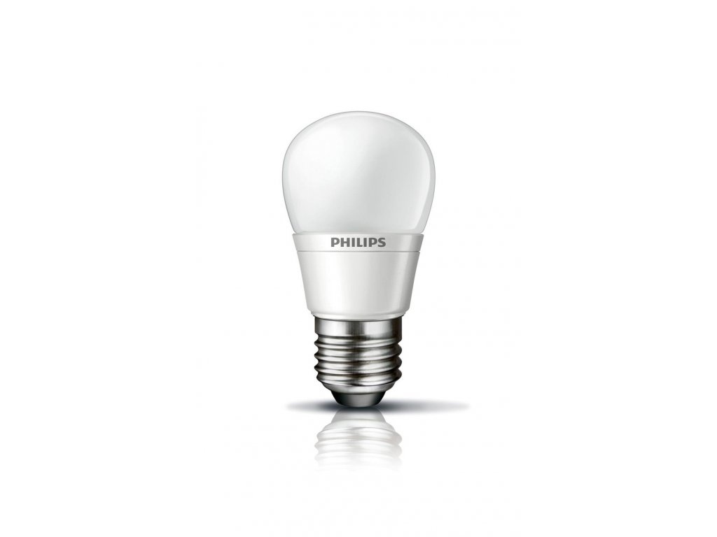 LED žárovka Philips 3W (15W) E27 P45 WW FR DIM