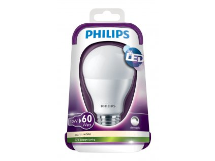 LED žárovka Philips 10W (60W) E27 WW FR DIM
