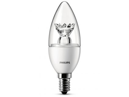 LED žárovka Philips 3W (25W) E14 WW B39 CL