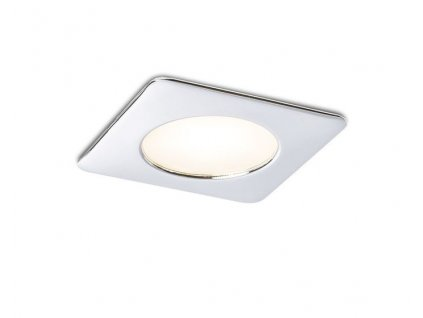 INEZ SQ chrom 12= LED 3W 120° IP44 3000K - RED - DESIGN RENDL
