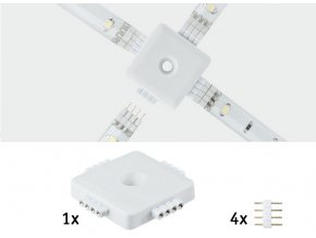 70282 x connector led pasky paulmann yourled esvetlo