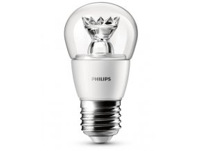 LED žárovka Philips 3W (25W) E27 WW P48 CL
