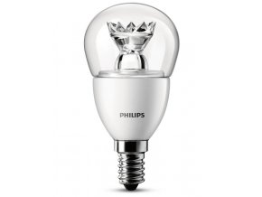 LED žárovka Philips 3W (25W) E14 WW P48 CL