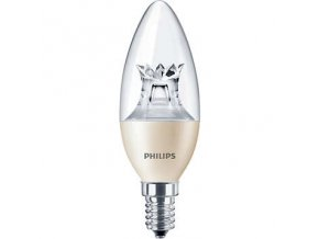 LED žárovka Philips 6W (40W) E14 WW B38 DIM