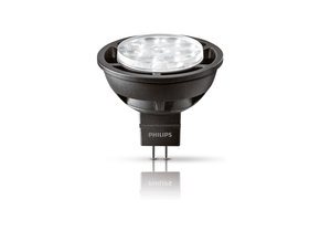 LED žárovka Philips 6,3W (35W) GU5.3 MR16 WW DIM
