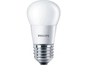 LED žárovka Philips 5,5W (40W) E27 WW P45 FR