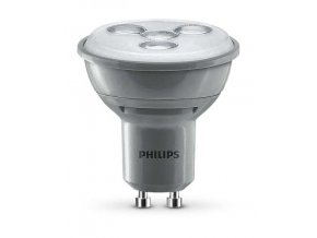 LED žárovka Philips 4,5W (35W) GU10 WW