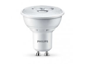 LED žárovka Philips 3,5W (35W) GU10 WH 240V
